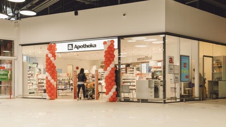 Pēc rekonstrukcijas Apotheka aptiekā t/c Ostmala pieejami vairāki veselības pakalpojumi