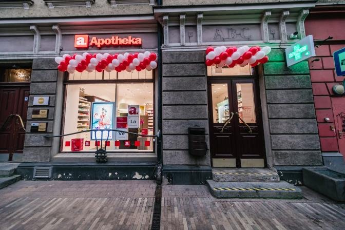 Izmanto īpašos aptiekas atklāšanas piedāvājumus jaunajā Apotheka aptiekā Rīgā Kr. Barona ielā 13/15