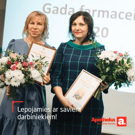 "Apotheka farmaceiti saņem divas ""Gada farmaceits 2020"" balvas"