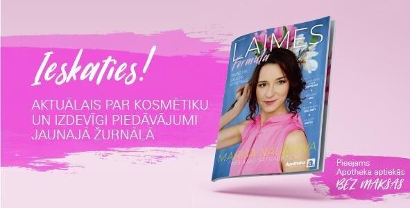 """Aplūko Apotheka vasaras skaistuma un veselības žurnālu """"Laimes Formula"""""""