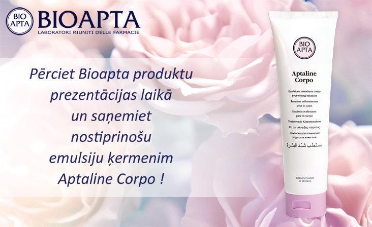 BIOAPTA  prezentācijas Apotheka aptiekās februārī