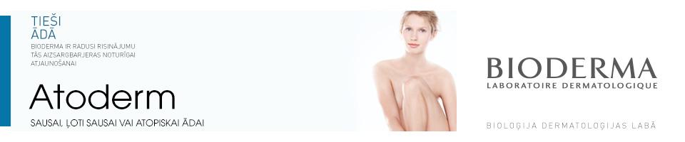 Atoderm sausai, ļoti sausai vai atopiskai ādai