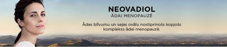 NEOVADIOL ādai menopauzē