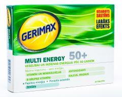 GERIMAX MULTI ENERGY 50+ TABLETES N30