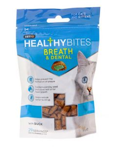 MC HEALTHY BITES BREATH'DENTAL FOR CATS 65G